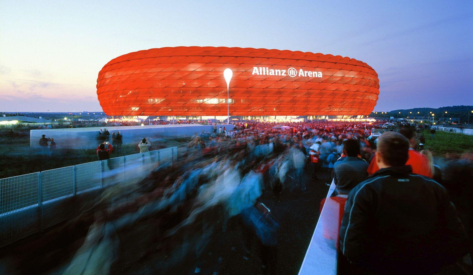Schon 2,2 Millionen Besucher in der Allianz Arena