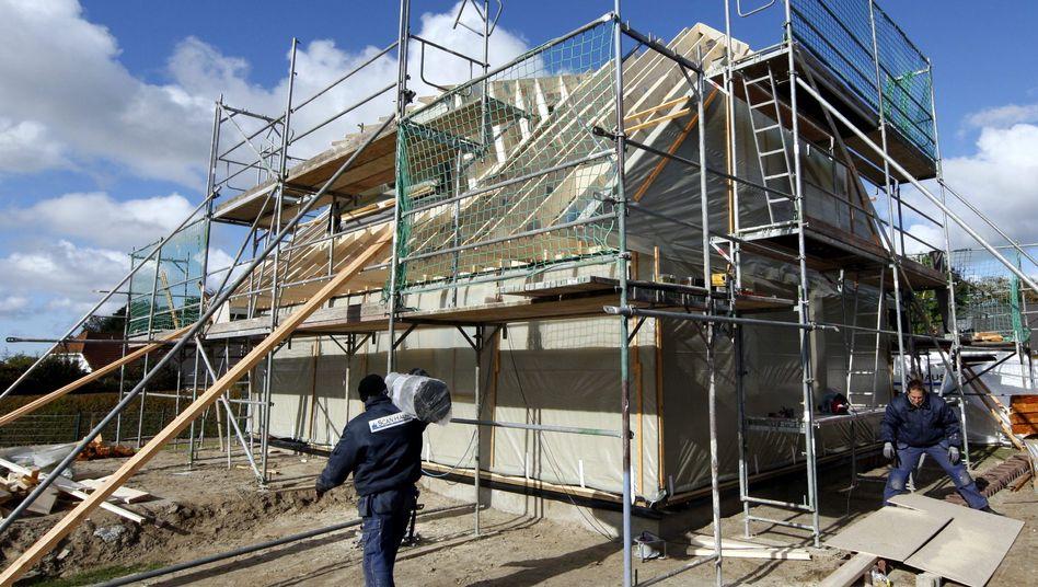Bau eines Einfamilienhauses: Nicht immer sind Bausparverträge die beste Wahl