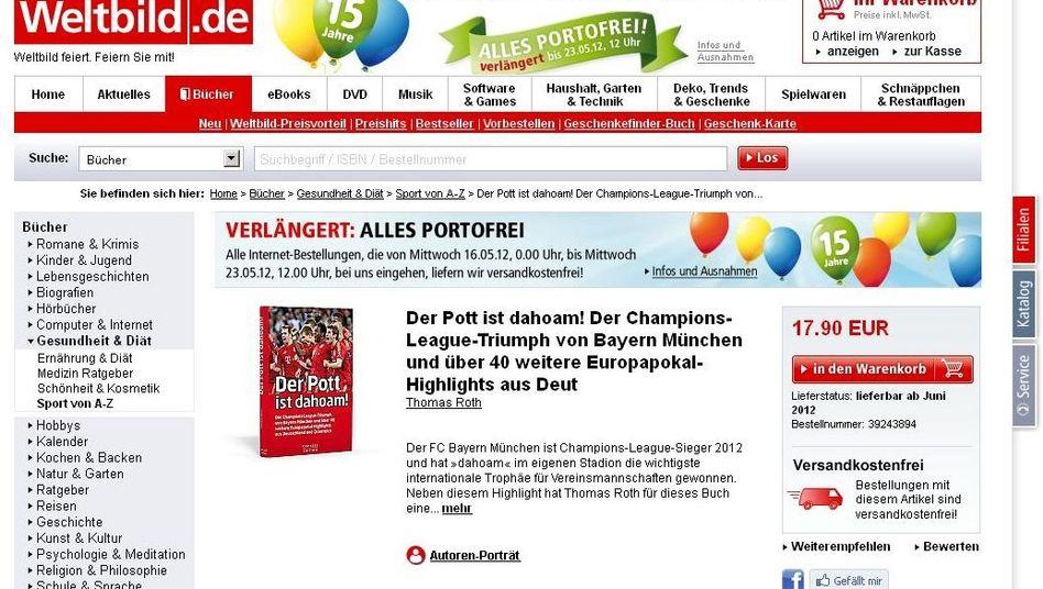"""Triumph im Vorverkauf: Das nie erschienene Buch """"Der Pott ist dahoam!"""""""