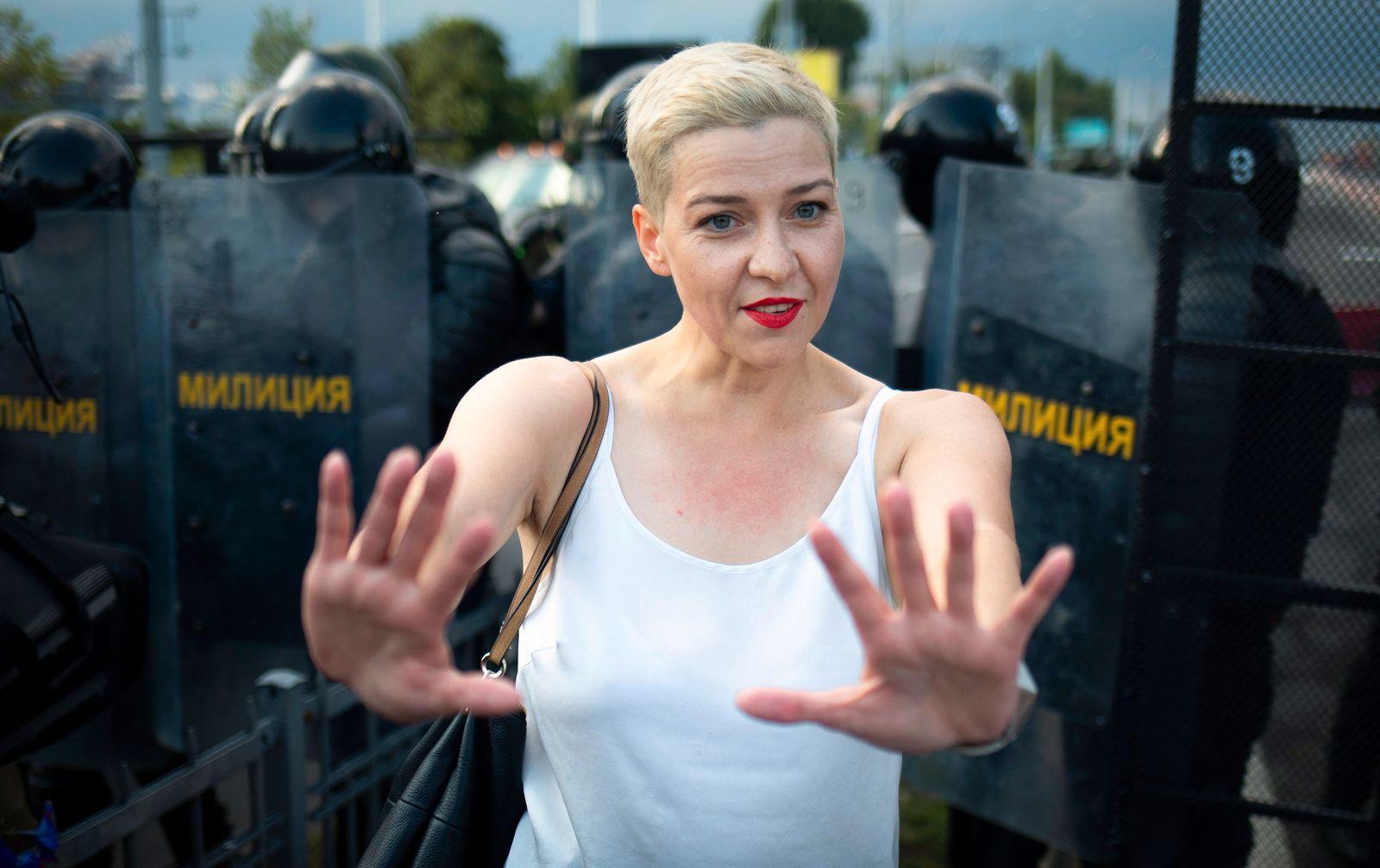 Maria Kolesnikowa verschwunden