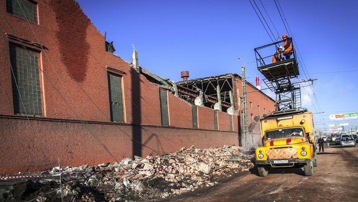Meteoritenhagel über Russland: Großreinemachen in Tscheljabinsk
