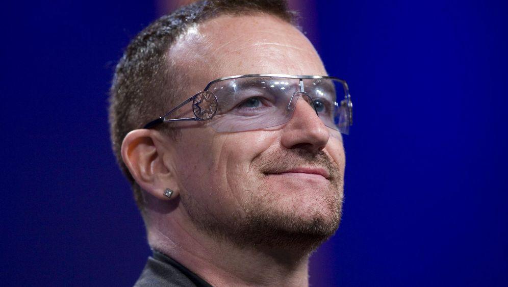 U2-Sänger Bono: Von Bühne ins Klinikbett