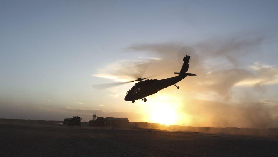US-Armee-Hubschrauber in Helmand: Tod von fünf Zivilisten wird nun untersucht