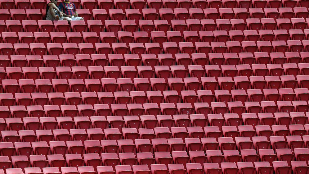 Zuschauer bei Olympia: Hier ist ja gar nichts los, oder?
