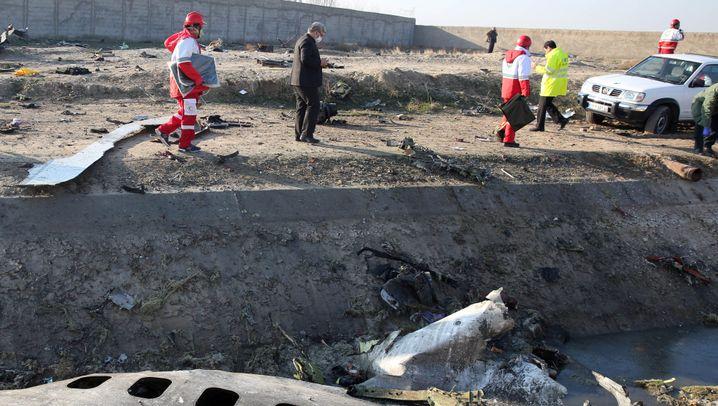 Ukrainisches Flugzeug mit 176 Menschen in Iran abgestürzt