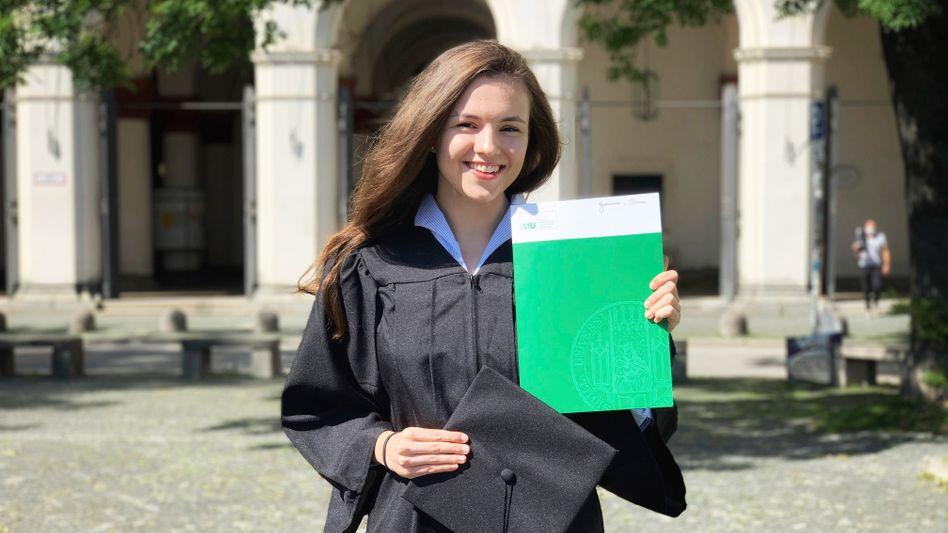 Stipendiatin Polina Gordienko: »Das stipendiatische Netzwerk ist das Schönste an dem Stipendium«
