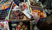 Inflation in der Eurozone ist erstmals seit vier Jahren negativ