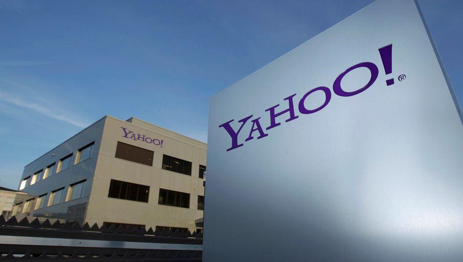Yahoo-Logo in Genf