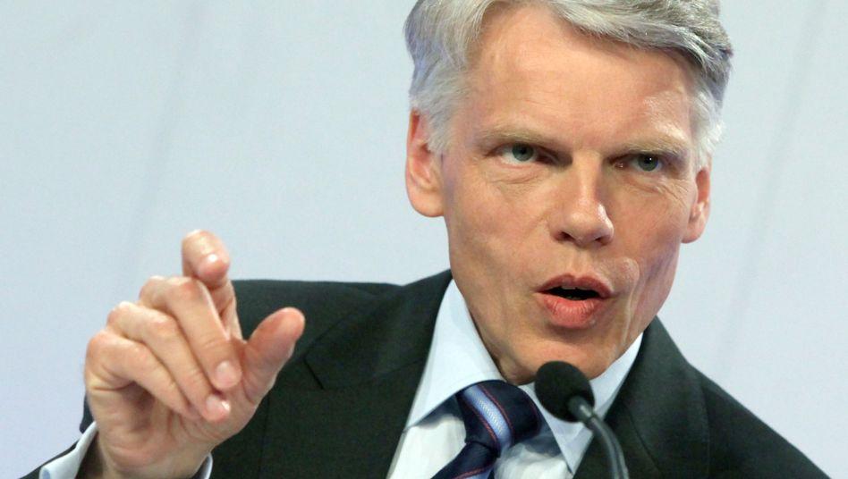 Andreas Barner, Präsident des Stifterverbands, fordert eine Erhöhung der Mehrwersteuer zugunsten der Hochschulen