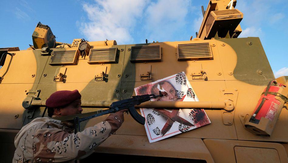 """Kämpfer von General Haftars Armee bei Bengasi: """"Das wird massiv eskalieren"""""""