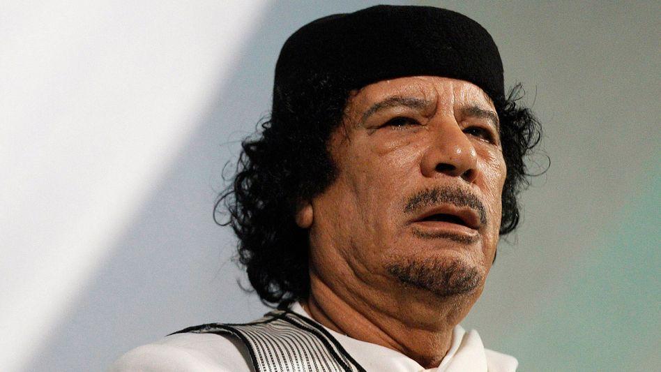 Despot Gaddafi: Vorstoß Richtung Österreich
