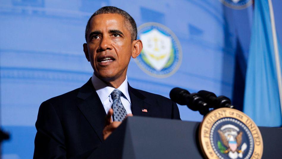 US-Präsident Barack Obama: Wer vernetzt ist, soll auch geschützt werden