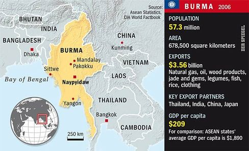 Burma is of geopolitical importance for both India and China.