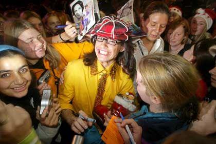 Küblböck mit Fans: Schlechtes Gewissen beim Biss ins Käsebrot, Schlafstörungen