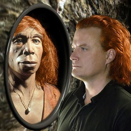 Neandertaler und moderner Mensch: Rote Haare bei beiden?
