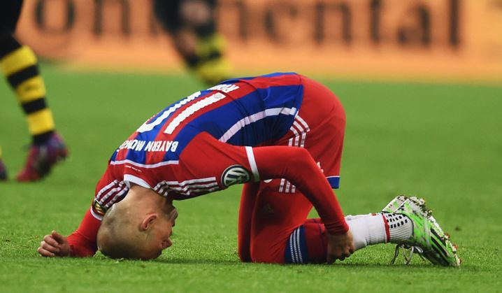 Arjen Robben: Schon wieder verletzt