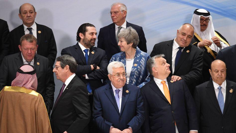 Staats- und Regierungschefs in Scharm el-Scheich