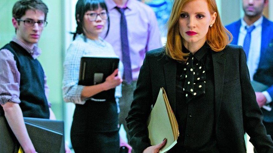 Darstellerin Jessica Chastain in »Die Erfindung der Wahrheit«