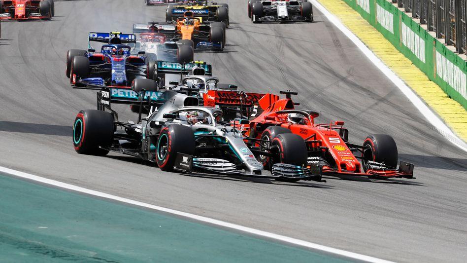 Das bisher vorletzte Rennen in der Formel 1 fand in Brasilien statt