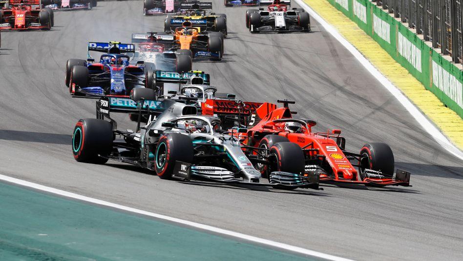 Das Regelwerk der Formel 1 wird 2021 eingefroren