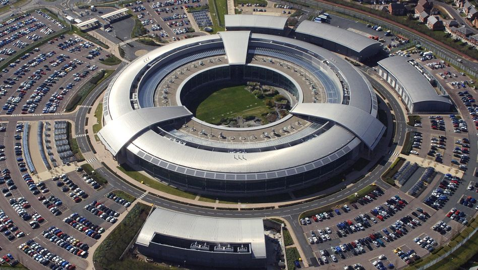 Hauptquartier des Government Communications Headquarters (GCHQ) im englischen Cheltenham