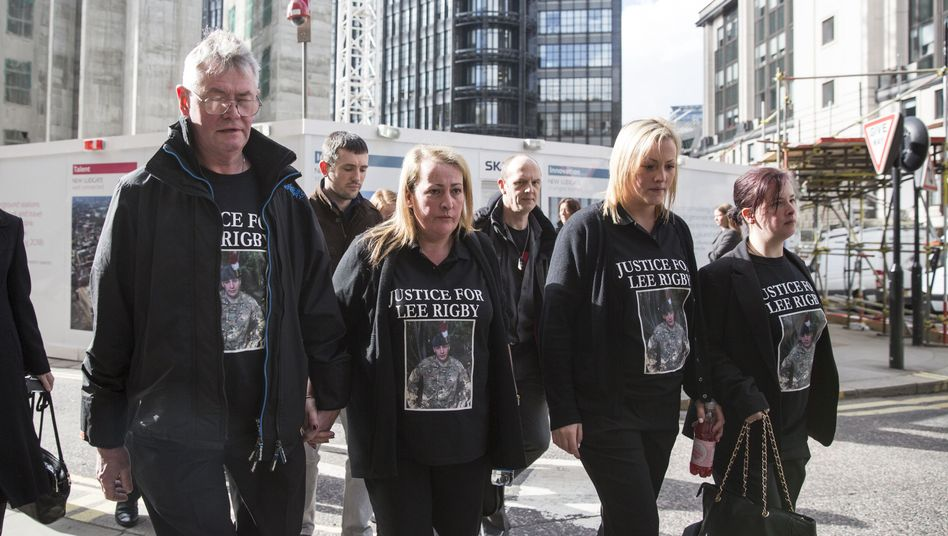 Soldatenmord-Prozess in London: Rigby-Mörder zu lebenslänglich verurteilt