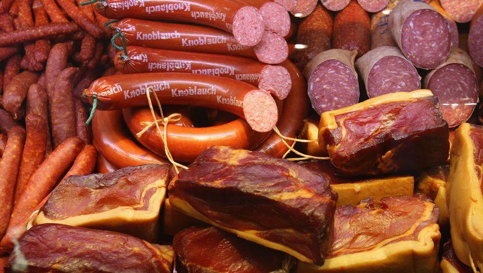 Wurstwaren: Rohwurstsorten wie Salami können mit Keimen belastet sein