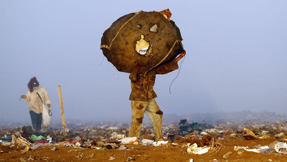 Müllsammler in Nicaragua: Kritik am Klimaschutz-Hilfsangebot für arme Länder