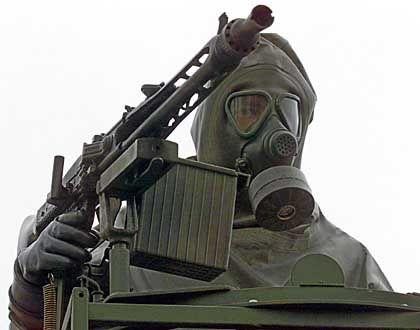 ABC-Schütze der Bundeswehr: Hilfestellung für die Amerikaner bei einem Angriff auf den Irak?