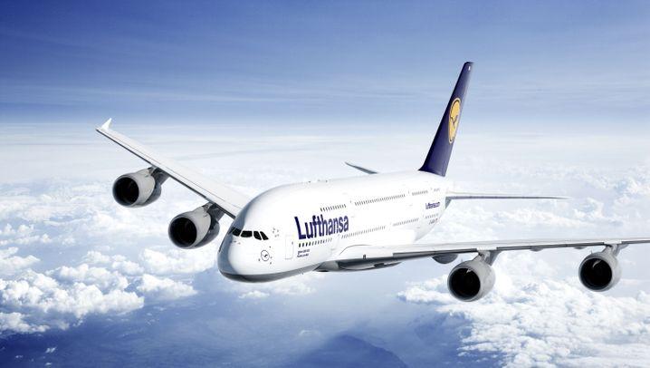 A380-Premiere: Lufthansas König der Kraniche