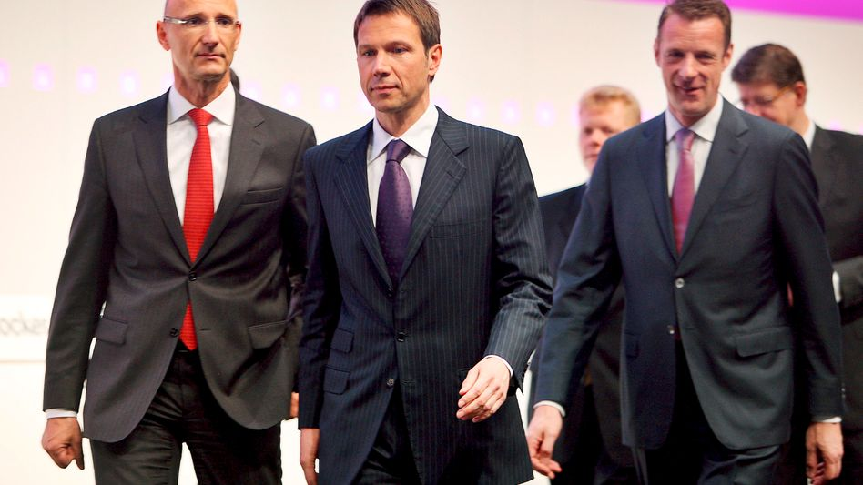 Telekom-Vorstände: Keine einzige Frau im Top-Management