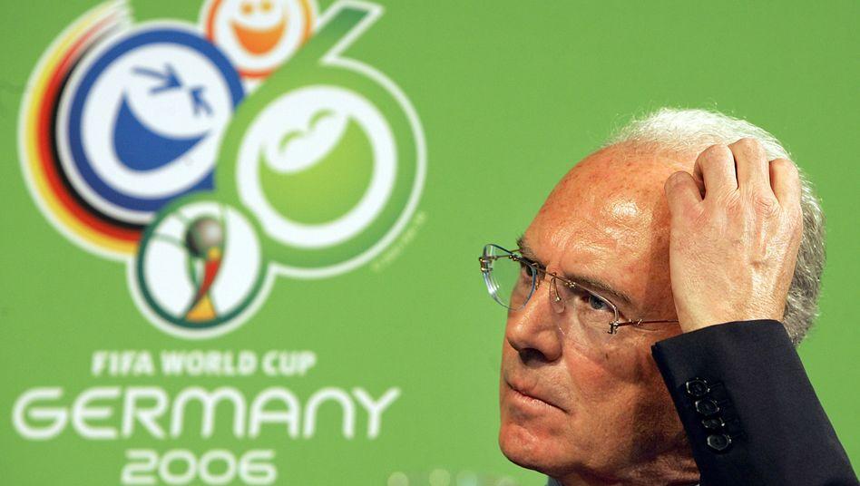 Franz Beckenbauer: War Präsident des Organisationskomitees