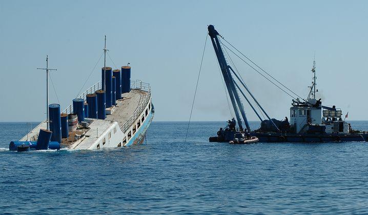 Wrackversenkung vor Malta: Leichter zu erreichen als die Orkney - und wärmer