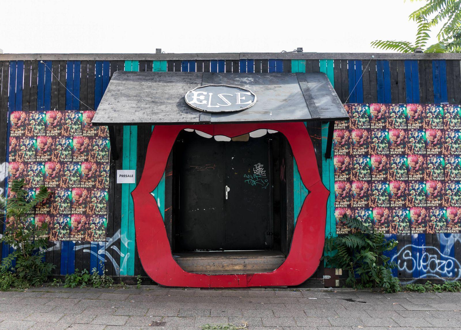 EINMALIGE VERWENDUNG Grüne/ Klubs/ Kultur