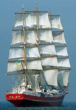"""Aus der Ukraine nahm das Vollschiff """"Khersones"""" teil"""