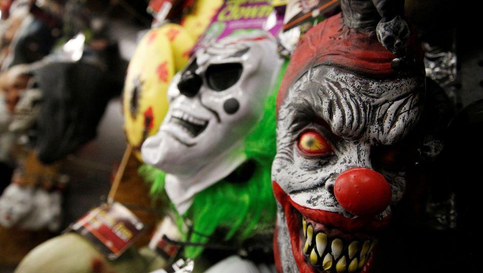 Clownsmasken in den USA