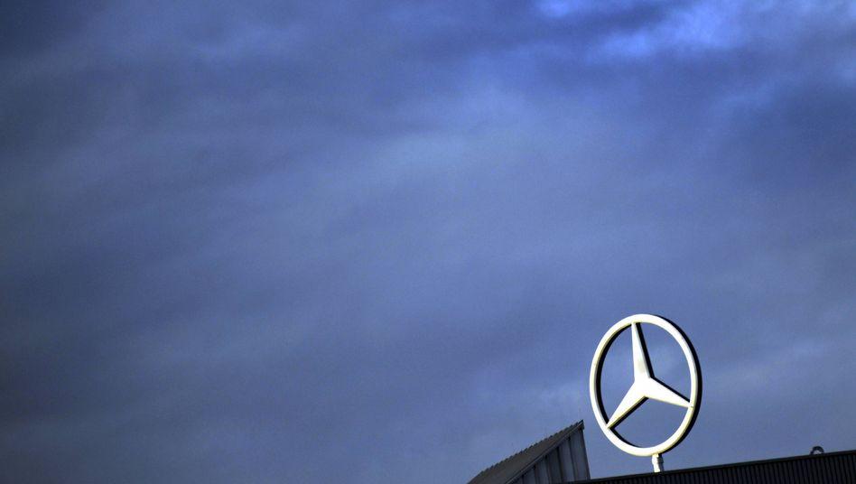 Mercedes-Benz-Logo: Der Konzern entzieht sich der Kontrolle der US-Börsenaufsicht