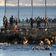 Tausende Menschen schwimmen in spanische Exklave Ceuta