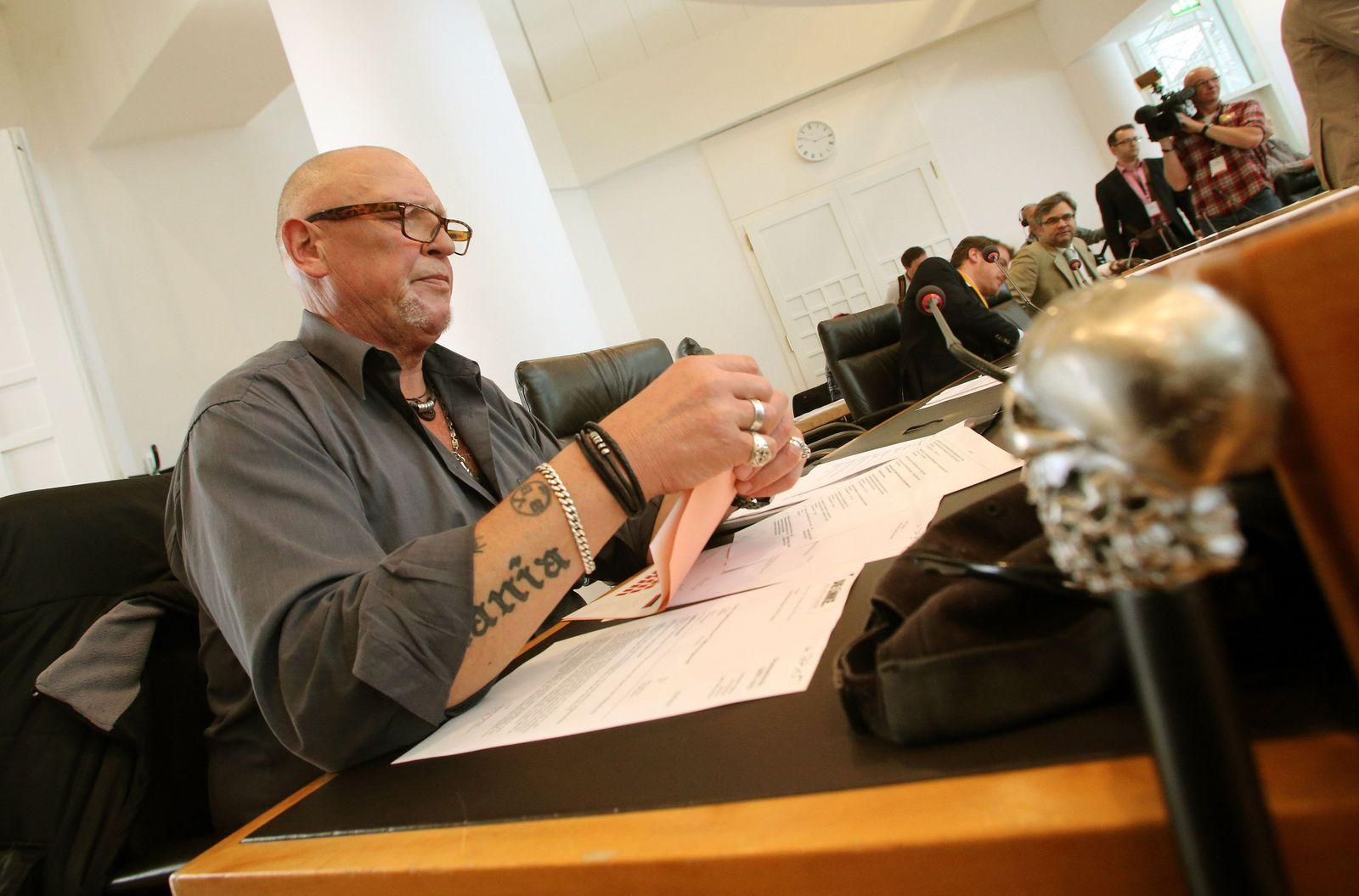 Siegfried Borchardt im Dortmunder Rathaus