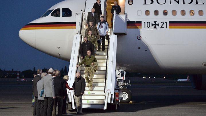 Zurück in Deutschland: Militärbeobachter wieder frei