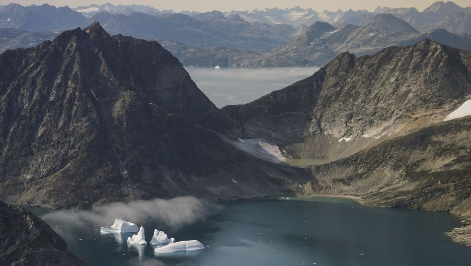 Melting ice in Greenland in August: The planet is warmer than it has been in over 1,000 years.