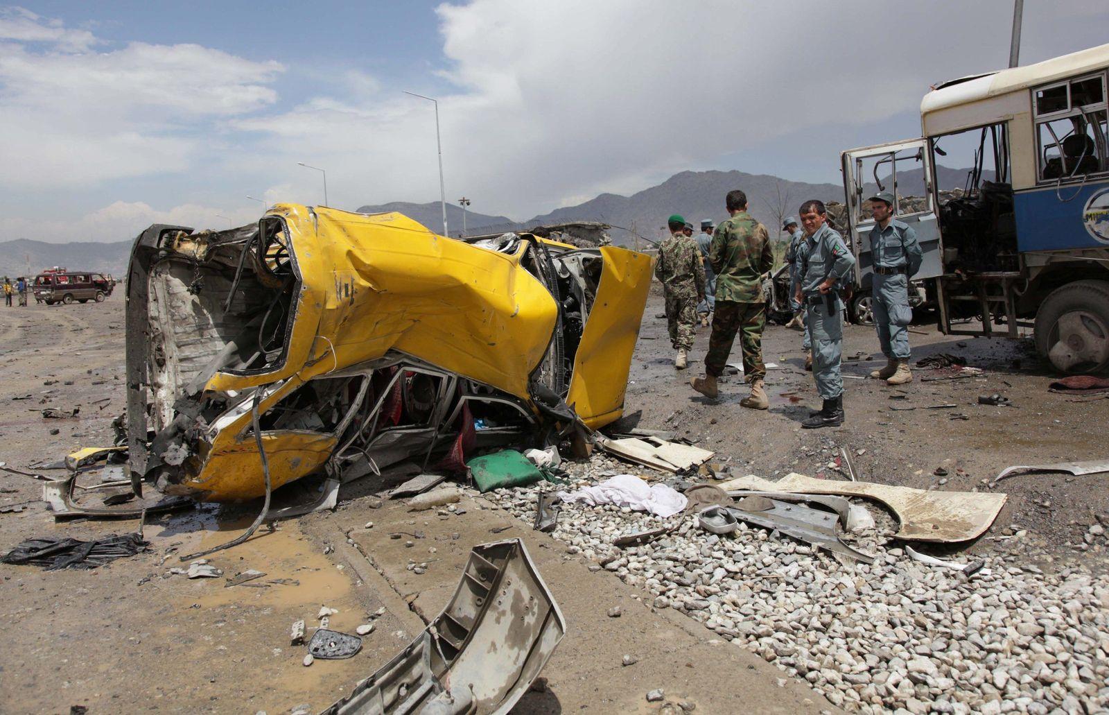 Afghanistan / Anschlag Kabul