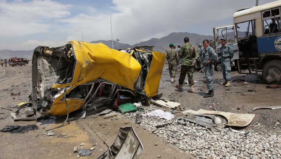 Four high-ranking NATO soldiers were killed in a bloody attack in Kabul on May 18.