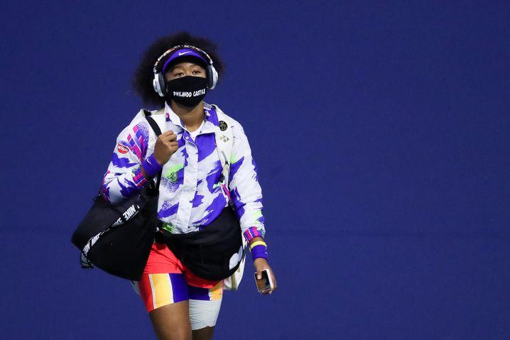 Black Lives Matter: Naomi Osaka bei den US Open 2020