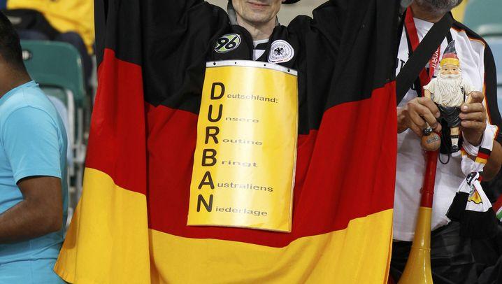 Deutschland vs. Australien: Starker Podolski, cooler Klose