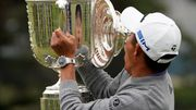 Golfer Morikawa holt die Trophäe - und verliert den Deckel