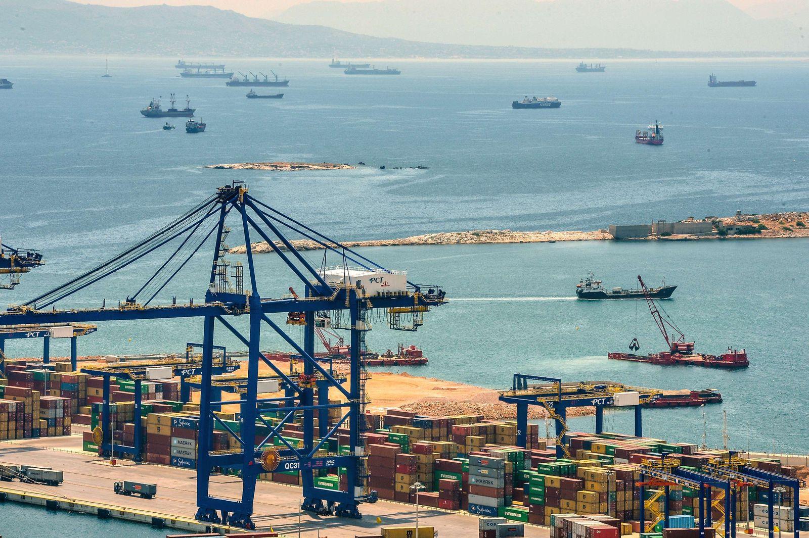 Griechenland / Finanzkrise / Konjunktur / Export / Import / Hafen