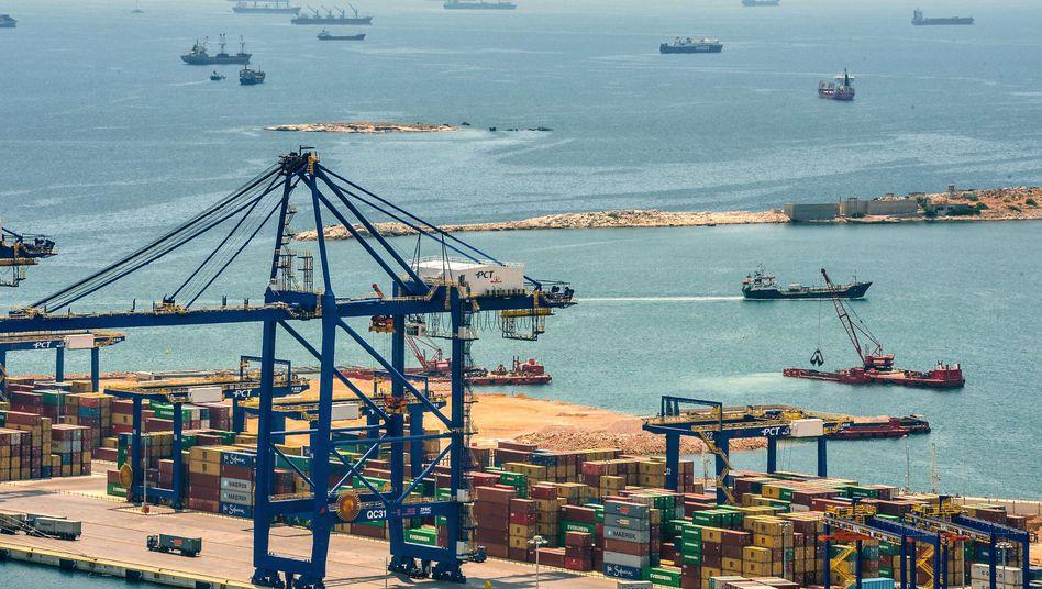 Auch auf der Privatisierungsliste: der Hafen von Piräus