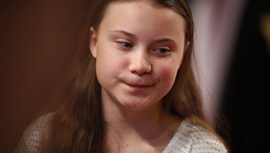 Greta Thunberg bei der Verleihung der Goldenen Kamera in Berlin - das Interview mit Anne Will führte sie am Samstag
