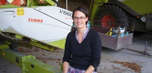 Anna Luetgebrune, Landwirtin